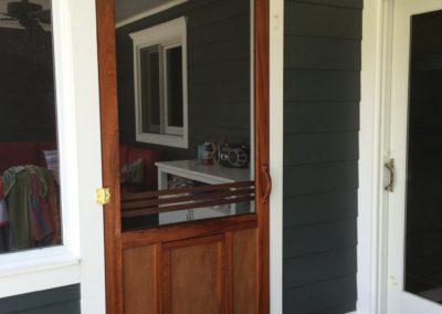 Custom Door Mahogony
